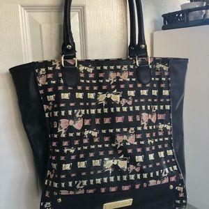 Betsey Johnson Bow Tote Bag